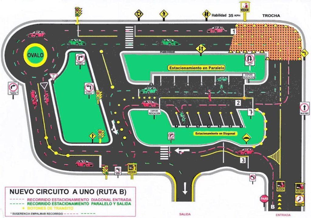 Circuito de Manejo Ruta B - Conchán