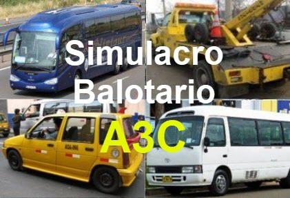 simulacro balotario online a3c