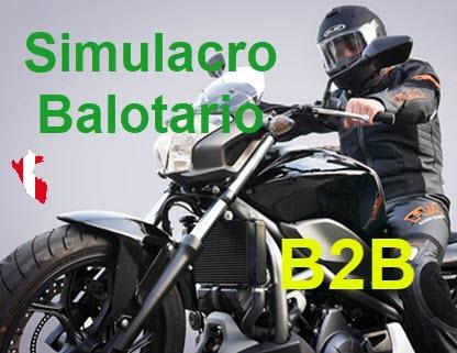 simulacro balotario online b2b