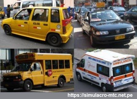 Vehículos permitidos por la Licencia A2A